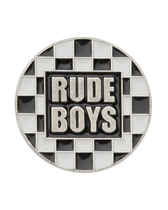 多色Rude Boys胸针
