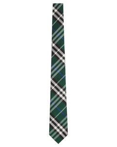 绿色Modern Cut领带