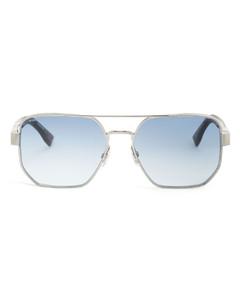 Sunglasses D-Frame P8680 C 64/12 Acetate red