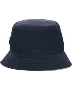 logo-plaque bucket hat