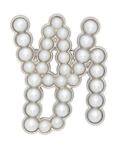 银色WD1胸针