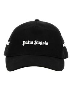 Logo Plastic Saffiano Leather Pin