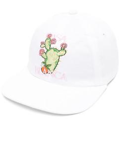 GG ribbed-knit trim ski gloves