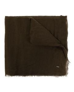 白色GG Embossed钥匙扣