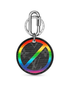 Round Illustre Bag Charm & Key Holder