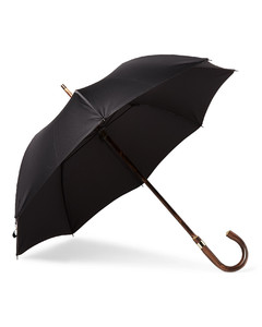 London Undercover Chestnut Wood-Handle Umbrella