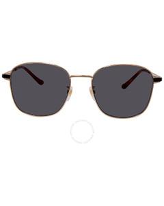Grey Square Men's Sunglasses GG0575SK-001 56