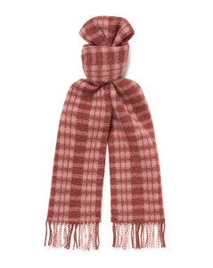 蓝色Skull & Polka Dots领带