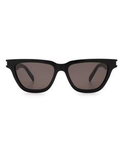 Square G leather belt