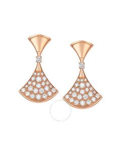 Divas Dream Rose Gold Earrings