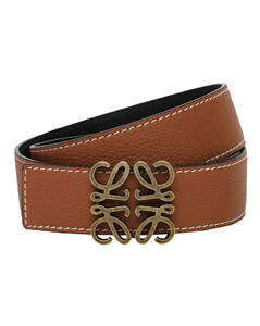 4mm Reversible Anagram Leather Belt