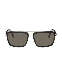 黑色Classic羊毛毛线帽