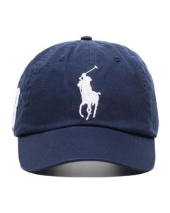 靛蓝色丹宁棒球帽