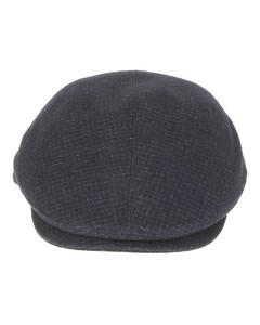 黑色美利奴羊毛徽标毛线帽