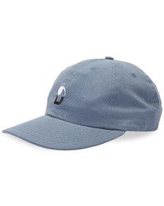 logo-print silk-blend scarf