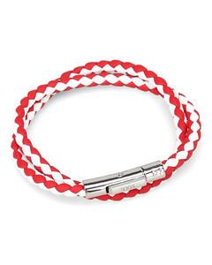Hoop Earrings W/ Dalmatian Beads