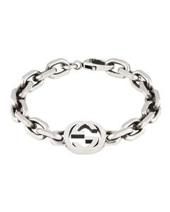 Sterling silver Interlocking G bracelet