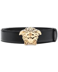 black logo keyring pouch