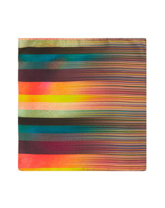 Artist & Signature stripe pocket square