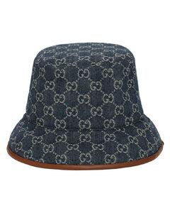 Gg Jacquard Canvas Bucket Hat