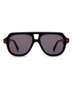 黑色Polo Sport拼色渔夫帽