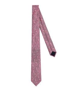 多色Logo Regimental真丝领带