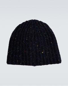 Triple-prong leather belt
