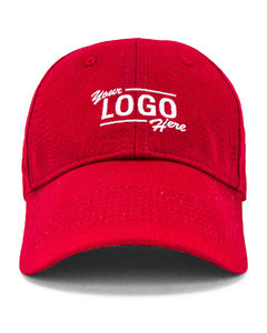 Your Logo Cap in Red