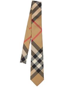 70mm Manston Macro Check Print Silk Tie