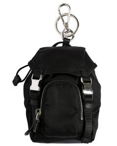 Mini Nylon Backpack Key Holder