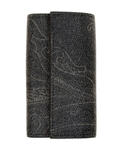 silk tie with Gancini pattern
