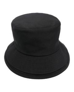 Logo-intarsia wool gloves