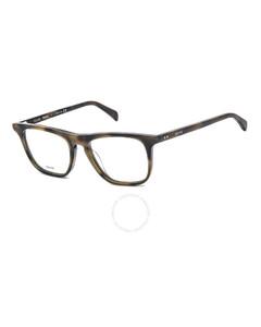 Unisex Tortoise Square Eyeglass Frames CL50063I05551