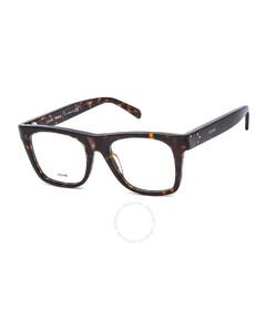Unisex Tortoise Square Eyeglass Frames CL5018IN05251