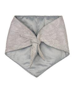 Palazzo Demi Medusa-buckle leather belt