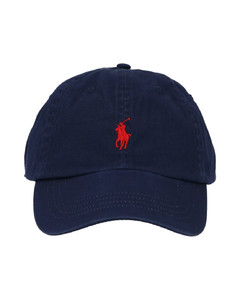 Logo baseball cap in blue