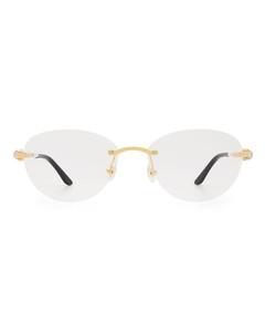 条纹针织手套