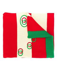 Tommy GG Logo Knit Scarf