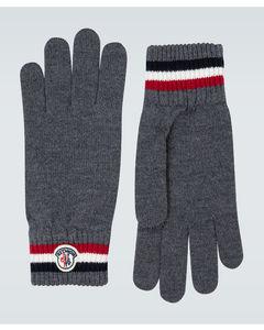 羊毛罗纹手套