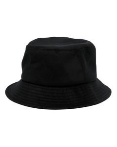 Parrot enamel and brass lapel pin
