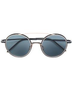 圆框太阳眼镜