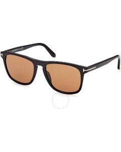 棕色Christian眼镜