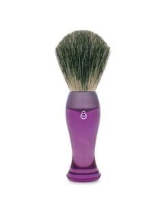 Finest Badger Hair Shaving Brush Long Handle - Purple