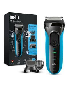 Series 3 ProSkin 3010BT Electric Shaver, Blue