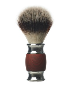 WOOD & STEEL LUXURY SHAVING BRUSH