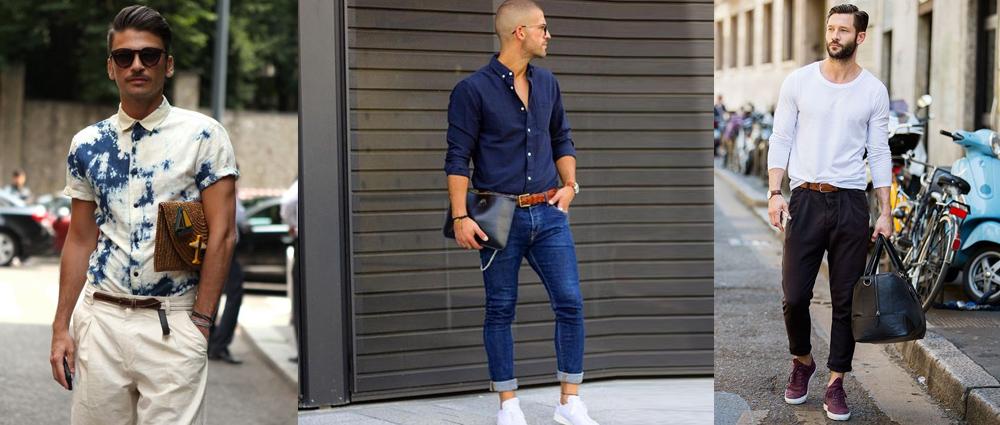 绅士细节:腰带巧搭配