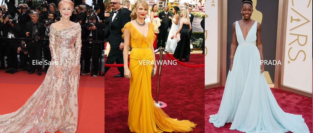 禮服合集:紅毯女星之選