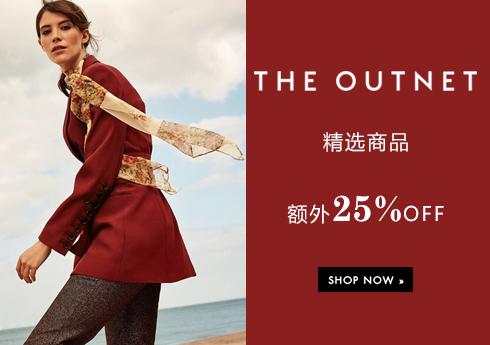 THE OUTNET 精选商品额外25%OFF