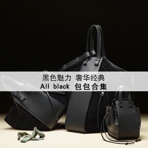 All Black包:黑色魅力,奢华经典