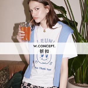 Wconcept:精选上衣限时额外10%OFF